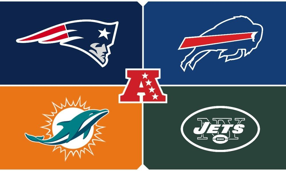 can you bet on sports online nfl east standings